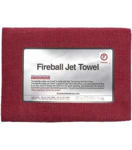 FIREBALL JET TOWEL RED 60X40